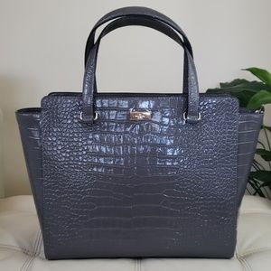 Kate Spade Bristol Drive Croc Elissa Shoulder Bag